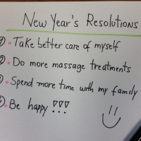 New Years resolutions pompano massage