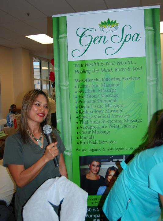 Gens Spa at the Business to Business Expo 2012